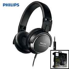 Philips DJ Style Casque Noir SHL3265BK Pliable Stéréo Bass Musique Casque