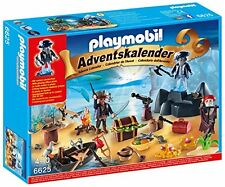 "Playmobil Advent Calendar ""Pirate Treasure Island"" 6625 (for Kids 4 to 10)"