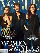 VOGUE Oct 2017 Shah Rukh Khan Aishwarya Deepika Padukone Priyanka Sunny Leone