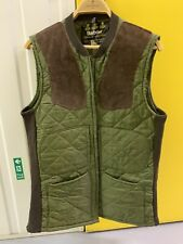 Vintage Barbour Quilted Shooting Gilet