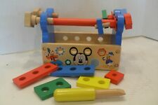 Melissa & Doug Disney Mickey Mouse Wooden Tool Kit, Toy Building Learning