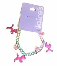 NEW Unicorn Horse Colorful Charm Rainbow Bracelet Great Gift