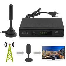 DVB-T2 Digital HDTV BOX Receiver DVB-T H.265 HDMI USB EU PLUG Mit Antenne LU