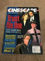 JAN 1996 CINESCAPE movie magazine XFILES - QUENTIN TARANTINO