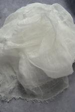 cotton scrim 2 yards white cheesecloth