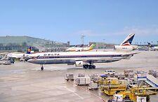 Delta Airlines McDonnell Douglas MD-11 N-802DE at Frankfurt (FRA) Postcard