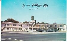 "Pasco WA  ""The Pasco TraveLodge Motel""  Postcard  Washington  *FREE US SHIPPING"