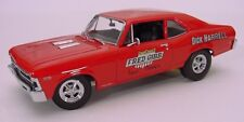 DH FG Famous Red Chevy Nova Drag NHRA 1/24th - 1/25th Scale Decals