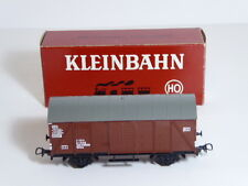 Klein Modellbahn HO Gauge Guterwagen Closed Goods Van OBB Brown Ref 300 Boxed