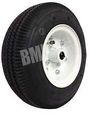 "4.10/3.50 Tire with Split 6"" Rim (1"" Bore) - Rear Go Kart Carts Wheel Parts"