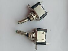 10 pcs Toggle Switch with Green LED Fog Light NEW