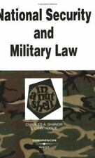 National Security and Military Law in a Nutshell (Nutshell Series)-ExLibrary