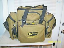 "Bass Pro Shops XPS Extreme Soft Fishing Tackle Box Holds 13 11"" x 7"" Boxes"
