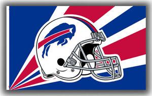 Buffalo Bills Football Team Memorable Flag 90x150cm 3x5ft Decor Best Banner
