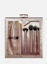 Real Techniques Rosy All Night Make Up Brush Set Rose Gold Limited Ed