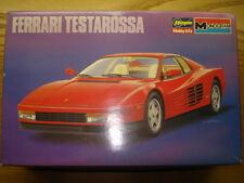 Hasegawa / Monogram 1:24 Scale Ferrari Testarossa Model Kit New
