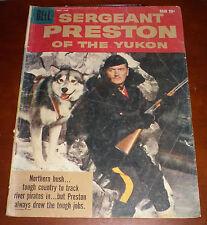 Sergeant Preston Of The Yukon #29 Dells Final Issue