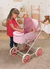 Pink Gingham 3-in-1 Pram/Carrier/Stroller