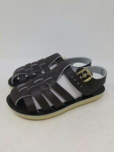 Saltwater Girl's Brown Sandals Size 9 US