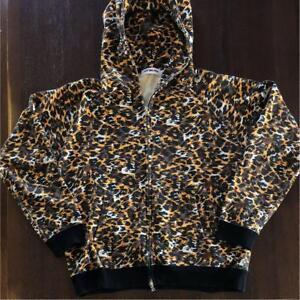 A BATHING APE Leopard Hoodie size:M #2