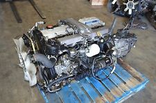 JDM TOYOTA LAND CRUISER 1HD-T 1HDT 4.2L TURBO DIESEL ENGINE TRANSMISSION HDJ80