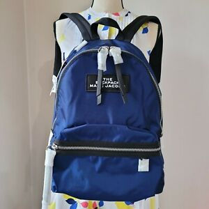 Marc Jacobs The Large Backpack Night Blue NWT$195