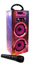 Karaoke Lautsprecher Bluetooth - Bluetooth Lautsprecher mit Mikrofon -Karaoke
