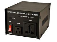110/120 TO 220/240 VOLT EUROPEAN SOCKET POWER CONVERTER