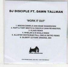(EJ130) DJ Disciple ft Dawn Tallman, Work It Out - DJ CD