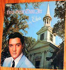 Elvis Presley - How Great Thou Art / stereo  VINYL LP