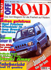 Off Road 11/98 1998 Suzuki Jimny Audi TT Coupé Citroën 2CV Galloper GMC PKWs