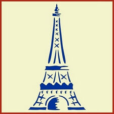 EIFFEL TOWER 2 - FRENCH STENCIL - The Artful Stencil