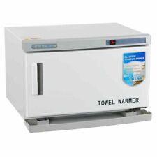 2 in 1 Hot Towel Warmer Cabinet Spa Beauty Salon Equipment Uv Sterilizer 16l