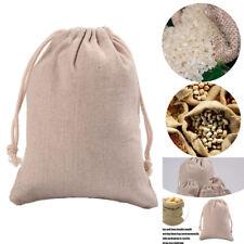 3Pcs Reusable Jute Burlap Sacks Gunny Bag Cereals Potato Race Home Supply Tool