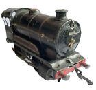 Vintage Hornby O Gauge Tinplate Clockwork, 60199 Black Locomotive