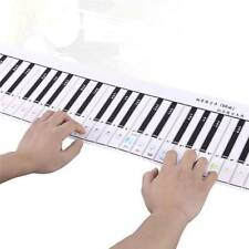 88 Keys Piano Keyboard PE Training Card Practice Pad for Piano Beginner Learner