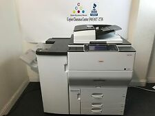 Ricoh Lanier Aficio MP C6502 Color Copier Printer Scanner Finisher LOW 589k page