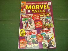 Marvel Tales #3, Reprints Spidey #6,Jim #84, Etc, 1966, Nice Shape