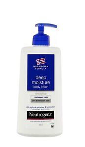 Neutrogena - Norwegian Formula Body Lotion Deep Moisture For Dry Skin 400ml