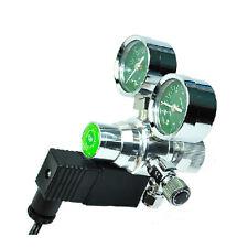 UP Dual Gauge Aquarium CO2 System Regulator with Solenoid Magnetic Valve Control