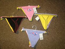 6 Pack New Sexy Baby Underwear Panties Brief Bikini Knickers Thongs G-string