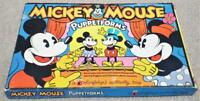 Mickey Mouse Puppetforms Vintage 1970s Colorforms Activity Toy Game Walt Disney