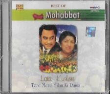 LATA - KISHORE - BEST OF MUHABBAT - TERAY MERE MILAN KI RAINA - BOLLYWOOD CD