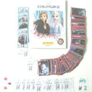 Die Eiskönigin 2 (2019)  kompletter Stickersatz + Leeralbum + 50 Cards ,Panini
