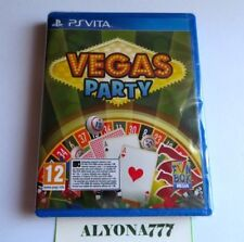 Vegas Party PS Vita (PlayStation Vita) -- REGION FREE-- *BRAND NEW*  US Seller