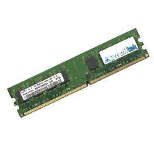 Mémoires RAM DDR2 SDRAM, 512 Mo par module avec 2 modules