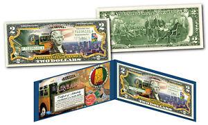 ALABAMA Genuine Legal Tender $2 Bill USA Honoring America's 50 States