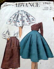 *LOVELY VTG 1950s GIRLS SKIRT Sewing Pattern 8