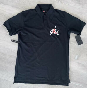 Nike Air Jordan Jumpman Classics Polo Black CK2228-010 Men's Size XXL New