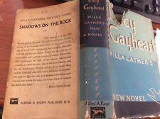 Unusual Willa Cather Lucy Gayheart PRE PUBLICATION FIRST EDITION 1935 Novel w/dj